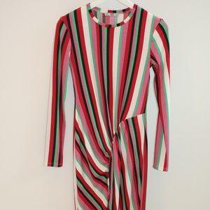 Multi Color Long Zara Dress